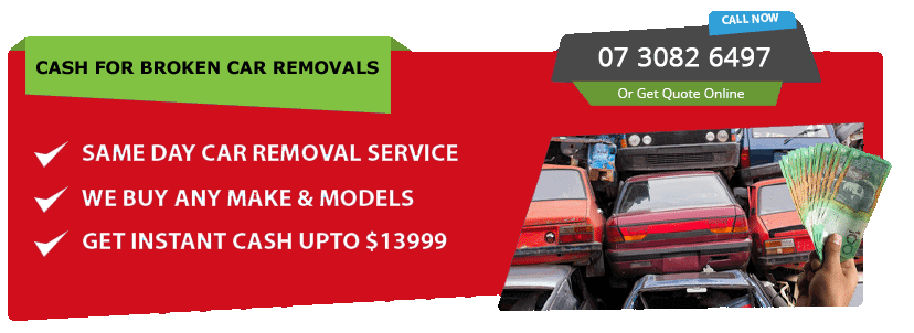 Cash for Broken Car Removals
